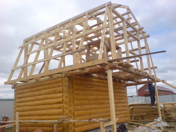 Стропильная система крыши частного дома