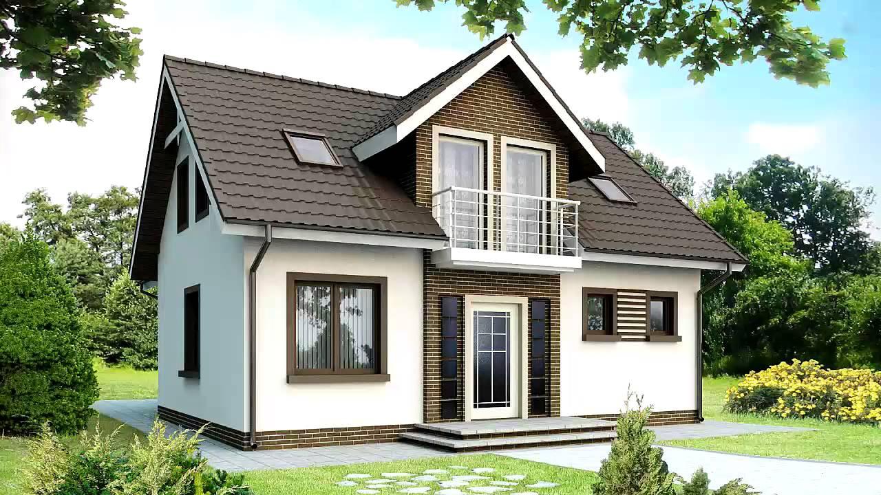 Проекты одноэтажных и двухэтажных домов с мансардой