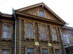 Дом из древесины постройки прошлого века