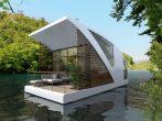 Малогабаритный дом для отдыха на воде