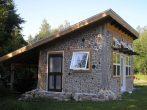 Финский дом с односкатной кровлей до земли