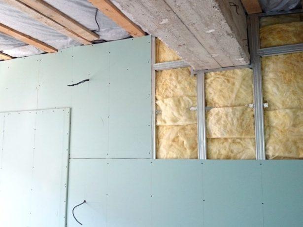 Облицовка стен гипсокартоном в два слоя