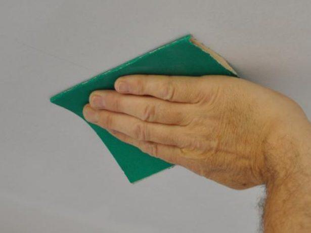 Выравнивание поверхности гипсокартона