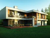 Дома с плоской крышей