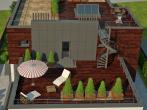 Эксплуатируемая крыша дома