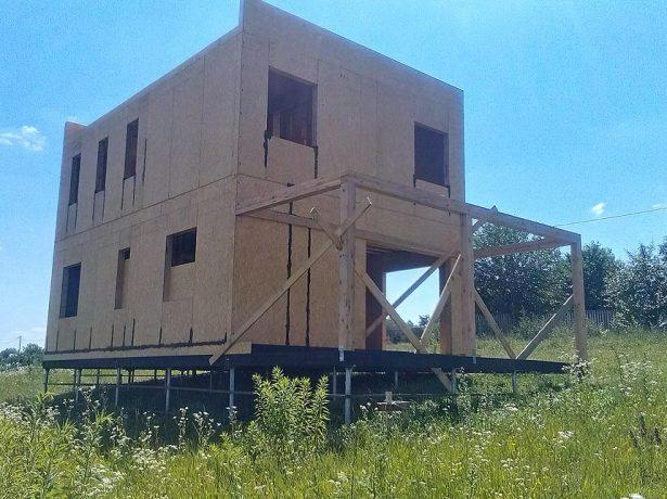 Здание из сип-панелей
