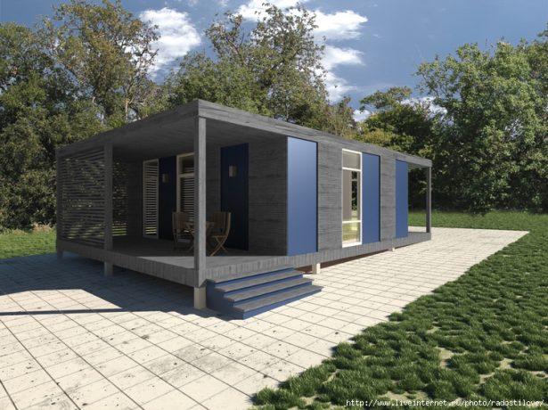 Дом из модульных конструкций