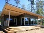Деревянный финский дом