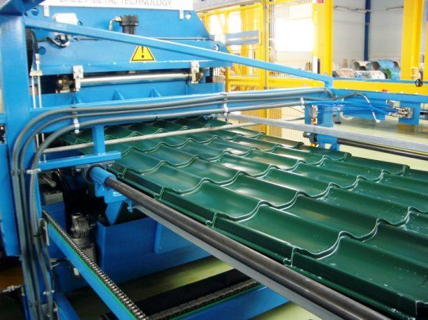 Оборудование для изготовления металлочерепицы