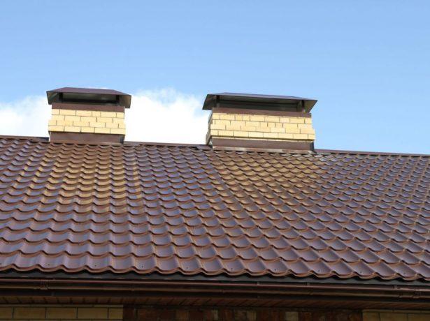 Крыша из металлочерепицы «Монтеррей»