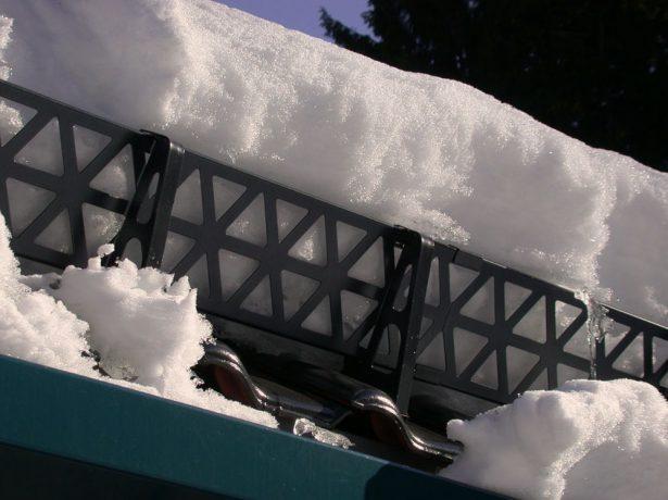 Решётчатые снегозадержатели