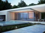 Дом в архитектурном стиле хай-тек