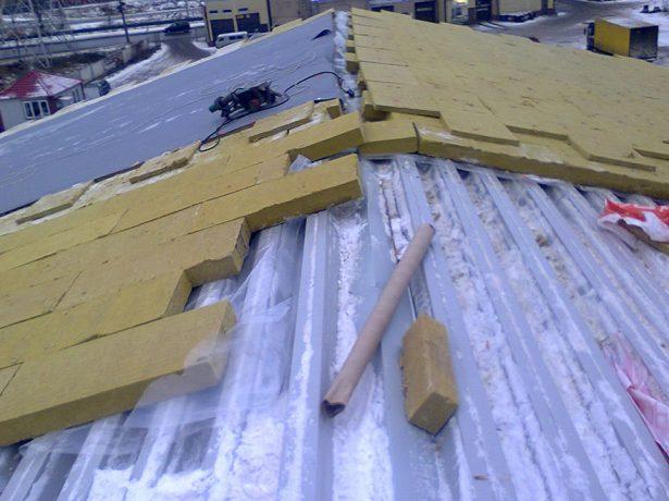 Мембрана на скатной крыше