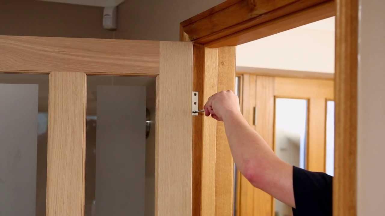 Самостоятельный ремонт межкомнатной двери