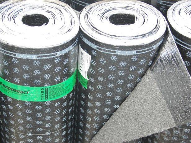 Хранение рулонных битумно-полимерных материалов