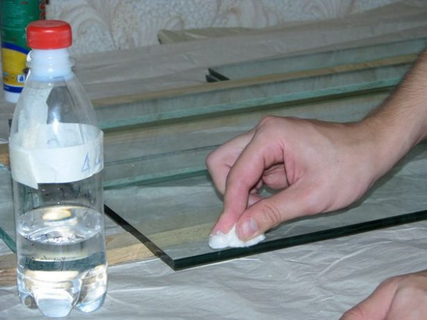 Очистка рабочей поверхности