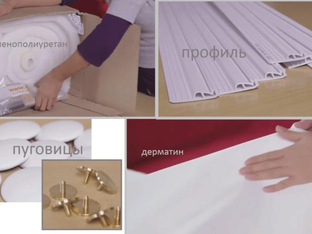 Материалы для «каретной стяжки» двери