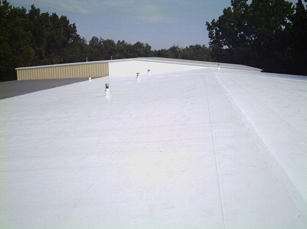 Стеклоизол на плоской крыше