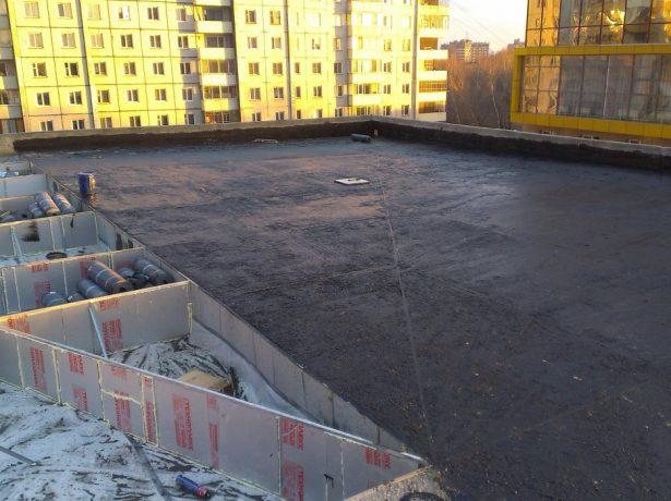 Гидроизоляционный слой крыши