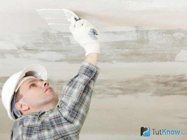 Подготовка бетонной поверхности