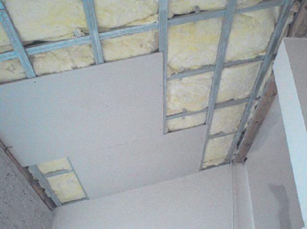 Обшивка потолка финишным материалом