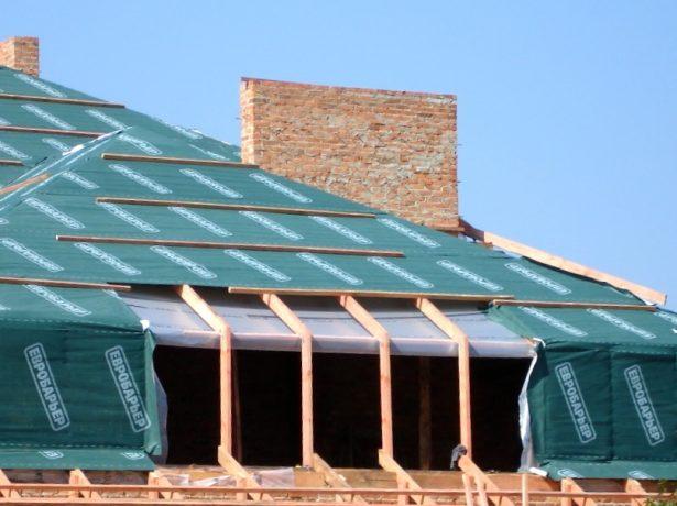 Плёночная гидроизоляция крыши
