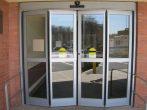 Складные входные металлопластиковые двери