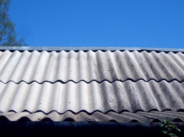 Крыша с покрытием из шифера
