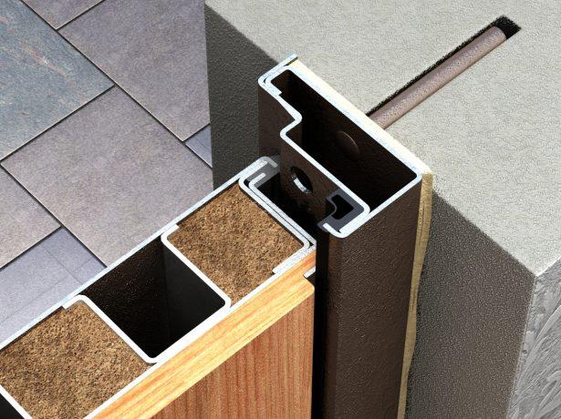 Крепление дверной коробки к стенке дверного проёма