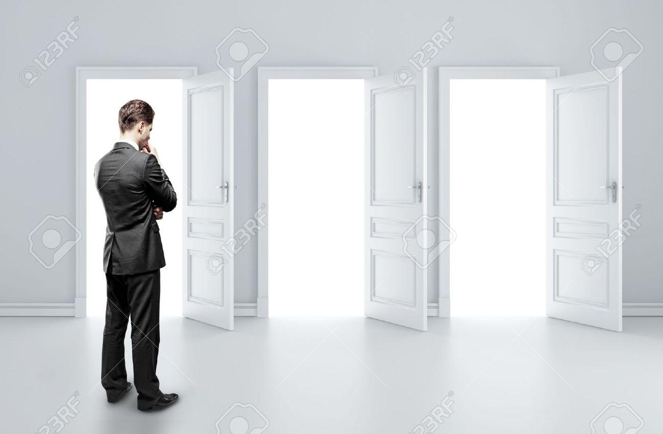 Как определить сторону открывания двери