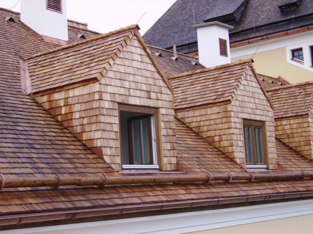 Дранка на крыше
