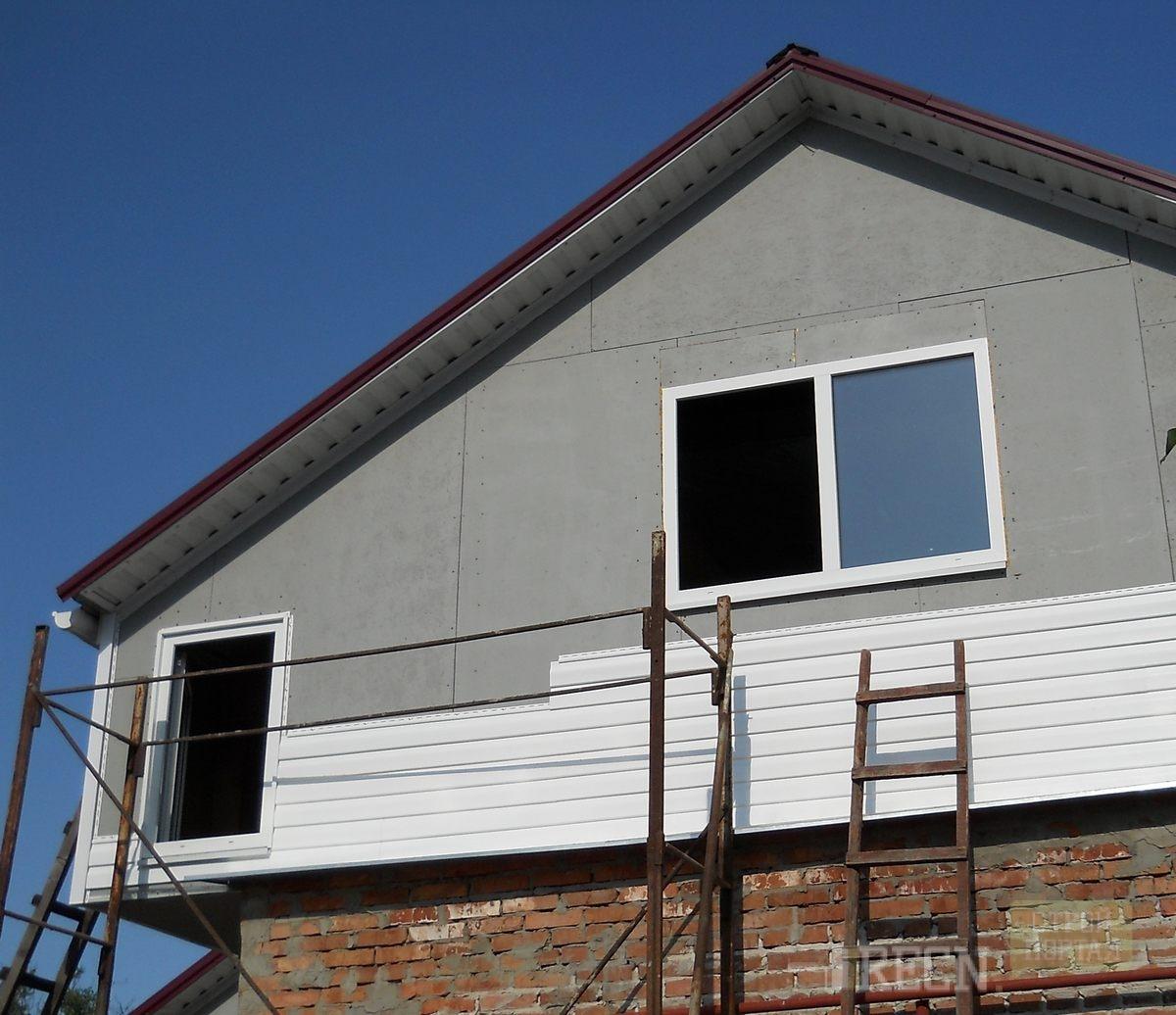 Фронтон крыши: порядок выполнения расчётных и строительных работ