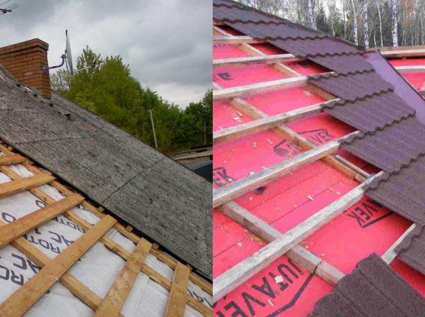 Гидроизоляционный слой на крыше
