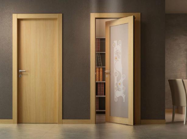 Межкомнатные двери из ДСП