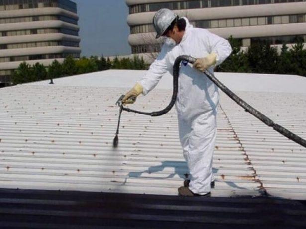 Обработка скатной крыши жидкой гидроизоляцией
