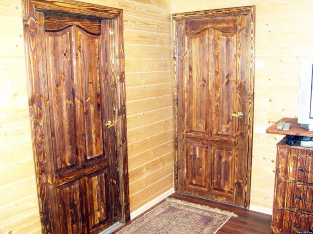 Брашированные межкомнатные двери