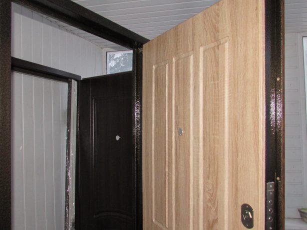 Обновлённая дверь
