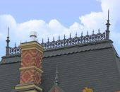 Коньком называется верхнее горизонтальное ребро любой скатной крыши, образуемое при щипцовом сопряжении двух скатов.