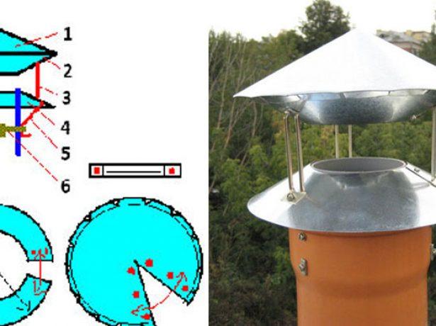 Тарельчатый дефлектор