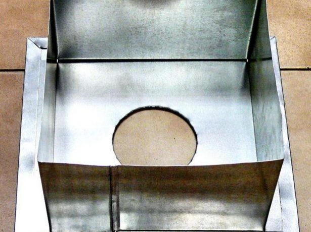 Металлический короб