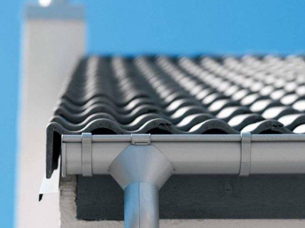 Цинк-титановая водосточная система