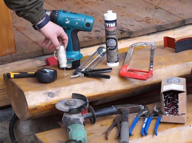 Инструменты для монтажа водостока