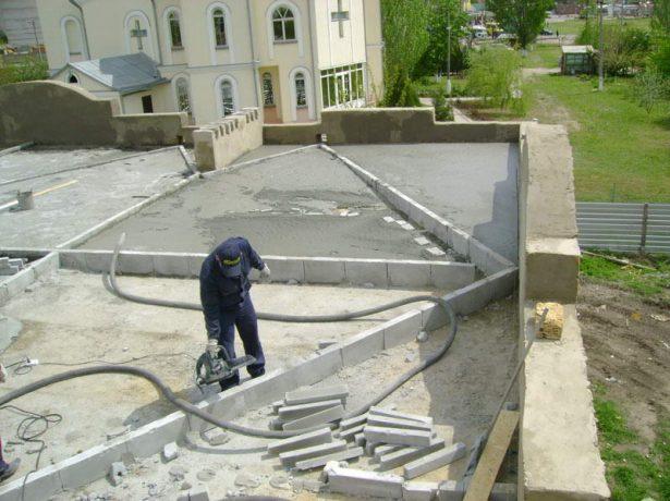 Разуклонка плоской крыши