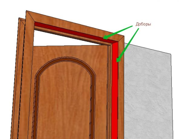 Доборы дверной коробки