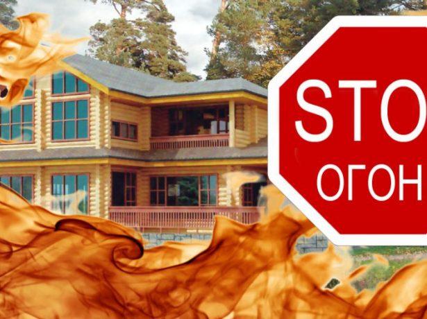Защита камышовой крыши от огня