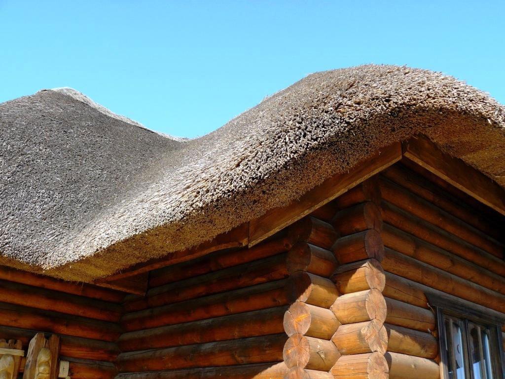 Особенности камышовой крыши