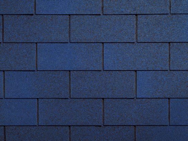 Синяя черепица Tab с прямоугольными элементами