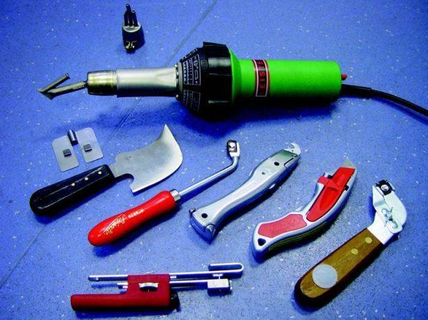 Инструменты для монтажа мембранной кровли