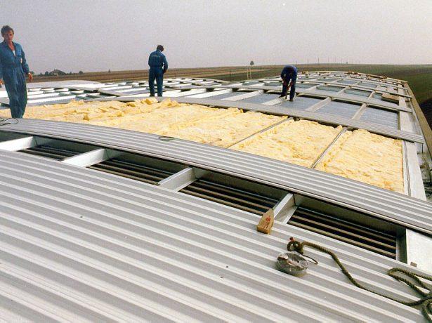 Утепление крыши из профлиста