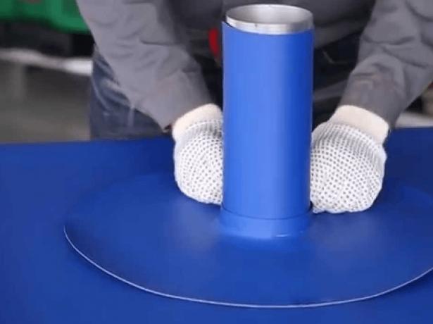 Монтаж герметизирующего кольца